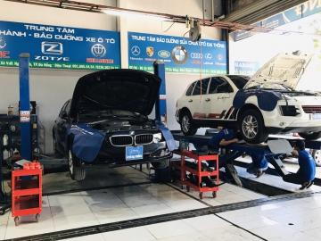 sửa chữa xe bmw