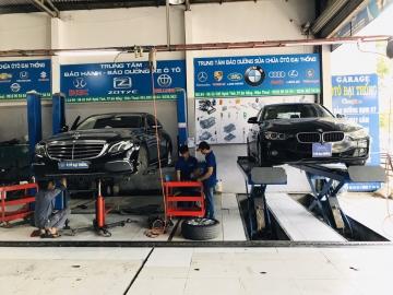 sửa chữa gầm xe